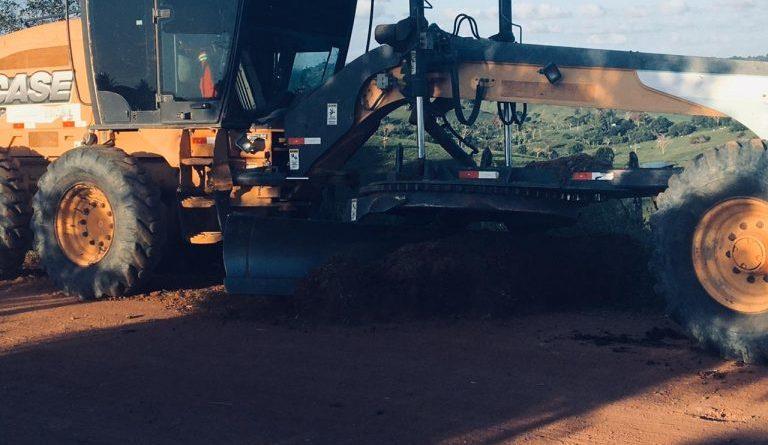 DOM MACEDO COSTA: Prefeitura acelera nas recuperações das estradas vicinais do Município, Jangada e Tintureiro estar em plena recuperação.
