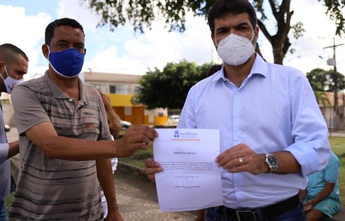 Santo Antônio de Jesus: Prefeitura inicia reforma da Praça São Benedito
