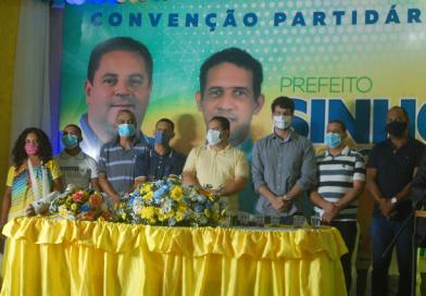 ARATUIPE: SINHO dá espaço à juventude ao lançar Joelson como vice, pela chapa majoritária PSD-PRB.