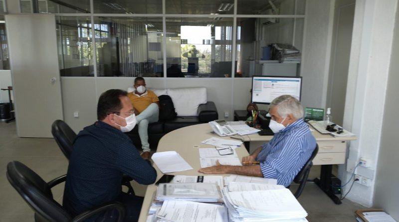 Nesta quarta-feira (15), o Prefeito, Professor Gileno e seu Vice Vavá, estiveram em Salvador para uma agenda cheia de atividades. confira!